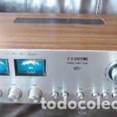 Radios antiguas: PRECIOSO AMPLIFICADOR A.R. SYSTEMS EDP-1 TAJO - FUNCIONA PERFECTAMENTE! VINTAGE PEPETO ELECTRONICA. Lote 217522711