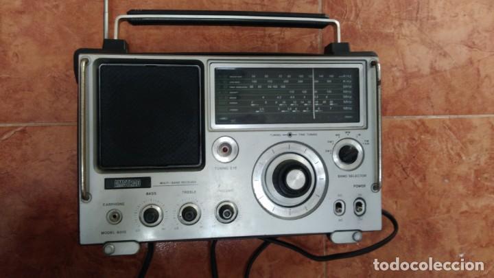 RADIO ANTIGUO AMSTRAD MULTIBANDA (Radios, Gramófonos, Grabadoras y Otros - Transistores, Pick-ups y Otros)