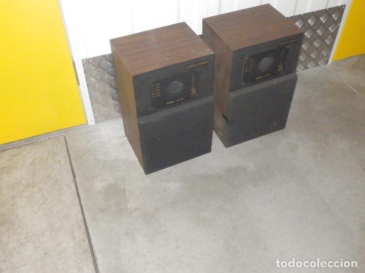 PAREJA BAFLES 80´S - MADERA 2 ALTAVOCES CADA UNO - SAVANA LS 30 - BUEN ESTADO - 30 W. (Radios, Gramófonos, Grabadoras y Otros - Transistores, Pick-ups y Otros)