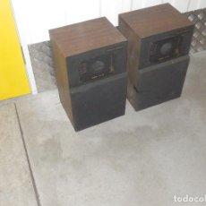 Radios antiguas: PAREJA BAFLES 80´S - MADERA 2 ALTAVOCES CADA UNO - SAVANA LS 30 - BUEN ESTADO - 30 W.. Lote 217550760