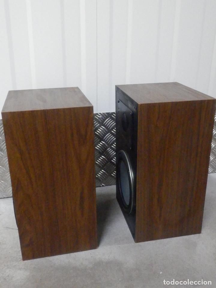 Radios antiguas: Pareja Bafles 80´s - Madera 2 altavoces cada uno - Savana LS 30 - Buen estado - 30 w. - Foto 9 - 242259405