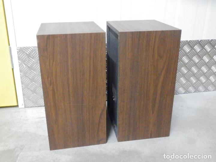 Radios antiguas: Pareja Bafles 80´s - Madera 2 altavoces cada uno - Savana LS 30 - Buen estado - 30 w. - Foto 14 - 242259405