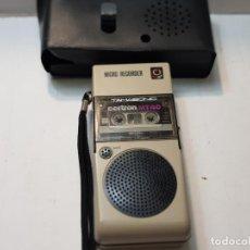 Radios antiguas: GRABADORA MINI TAMASONIC EN FUNDA ORIGINAL PRIMEROS MODELOS DIFICILISIMA. Lote 217569653
