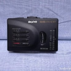 Rádios antigos: WALKMAN RADIO CASSETTE - SANYO - MGR-906D(K) (FUNCIONANDO). Lote 217606407