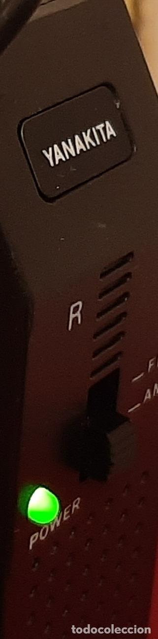 Radios antiguas: RADIO YANAKITA CASCO INTERNATIONAL HP 1000 HEADPHONE AURICULARES TRANSISTOR VINTAGE RETRO DISEÑO - Foto 2 - 217729506