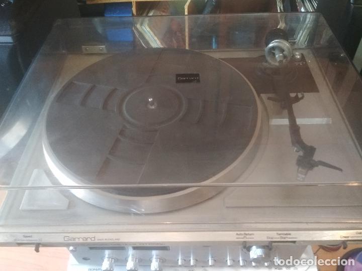 TOCADISCOS GARRARD ENGLAND SEMI AUTOMATICO GT225 P PEPETO ELECTRONICA VER VIDEO (Radios, Gramófonos, Grabadoras y Otros - Transistores, Pick-ups y Otros)