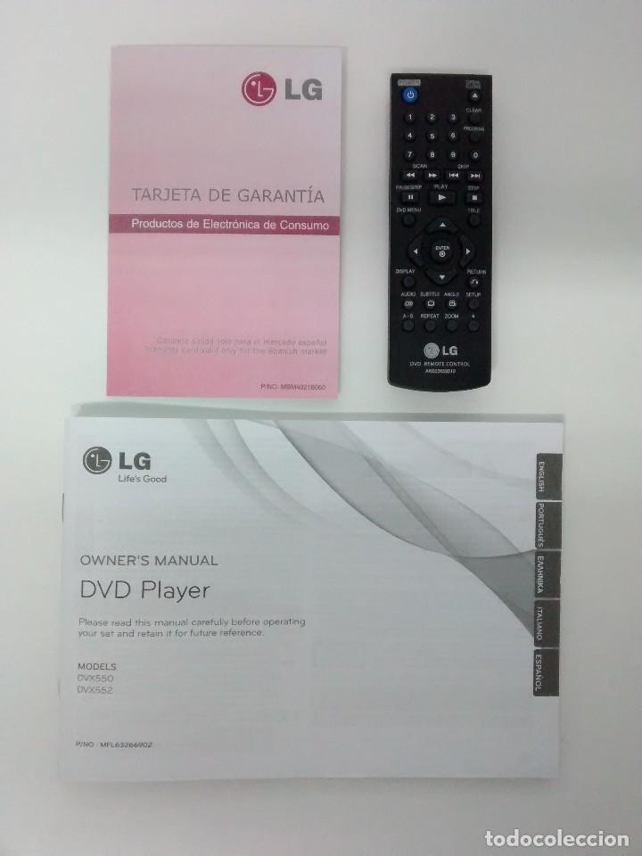 Radios antiguas: DVD LG DVX 552 NUEVO A ESTRENAR - Foto 4 - 217958480