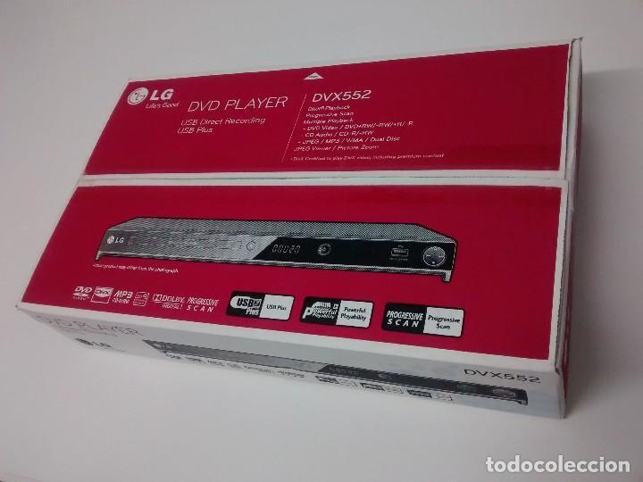 Radios antiguas: DVD LG DVX 552 NUEVO A ESTRENAR - Foto 8 - 217958480