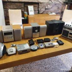 Radios Anciennes: GRAN LOTE DE RADIOCASETES, WALKMAN, LORO, MINICADENA, RADIO COCHE, REP. CD, ETC.. Lote 218135968