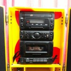 Radios antiguas: MINI CADENA MUSICAL CON PUBLICIDAD DEL WHISKY JB.. Lote 218261461