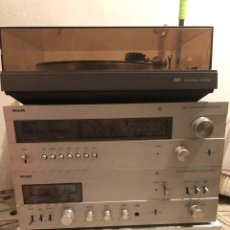 Radios antiguas: EQUIPO DE MÚSICA VARIADO PHILIPS ANTIGUO. Lote 218287853