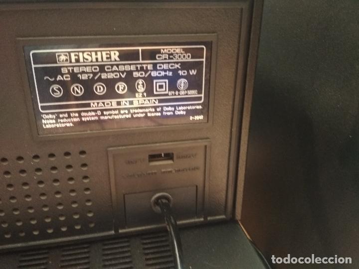 Radios antiguas: AMPLIFICADOR VINTAGE FISHER CA 3000 PERFECTO ESTADO Pepeto Electronica ver video - Foto 3 - 218549528