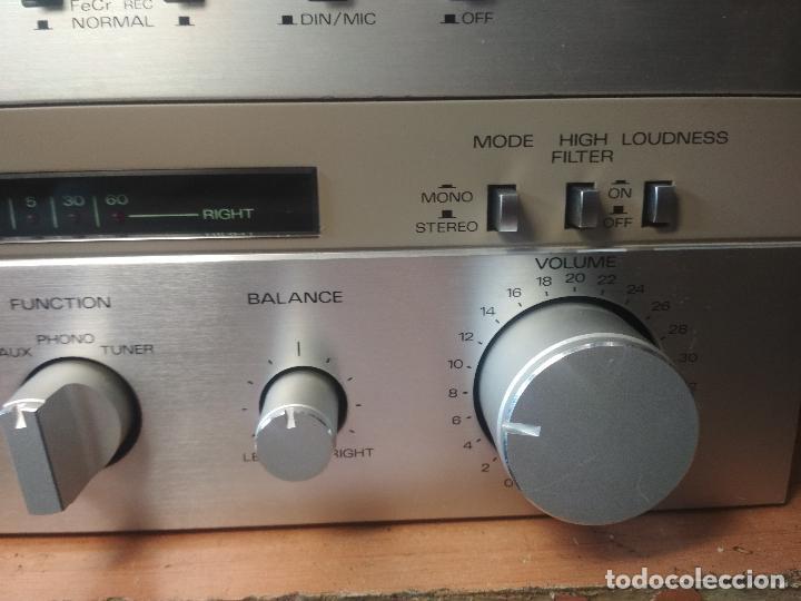 Radios antiguas: AMPLIFICADOR VINTAGE FISHER CA 3000 PERFECTO ESTADO Pepeto Electronica ver video - Foto 5 - 218549528