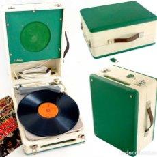 Radios antiguas: TOCADISCOS PICK-UP MARCA DE WALD AÑOS 60. FUNCIONA LEER. Lote 218682625