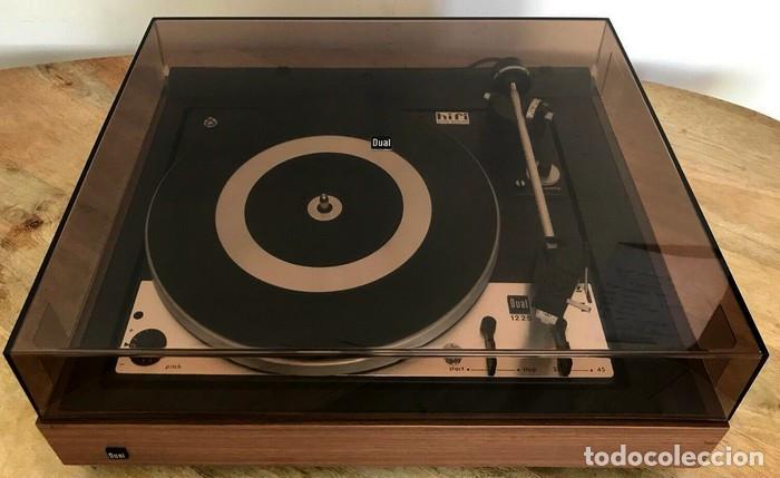 TOCADISCOS DUAL 1225 PLATO DUAL 1975 (Radios, Gramófonos, Grabadoras y Otros - Transistores, Pick-ups y Otros)