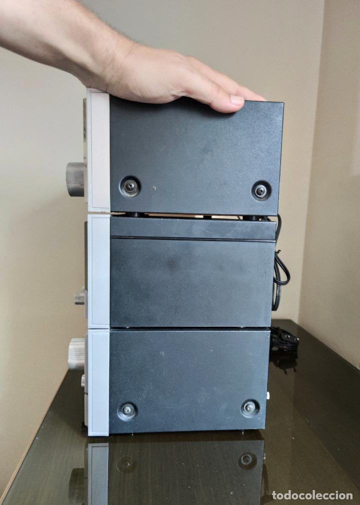 Radios antiguas: EQUIPO FISHER COMPLETO AMPLIFICADOR C-120 SINTONIZADOR RADIO FM-120L Y CASSETTE CR-120 - Foto 8 - 218696708