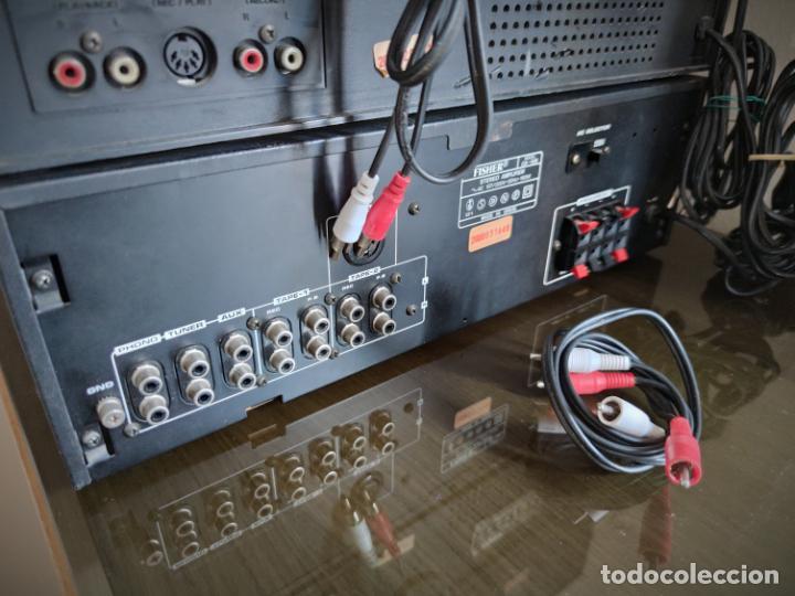 Radios antiguas: EQUIPO FISHER COMPLETO AMPLIFICADOR C-120 SINTONIZADOR RADIO FM-120L Y CASSETTE CR-120 - Foto 10 - 218696708