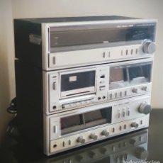 Radios antiguas: EQUIPO FISHER COMPLETO AMPLIFICADOR C-120 SINTONIZADOR RADIO FM-120L Y CASSETTE CR-120. Lote 218696708