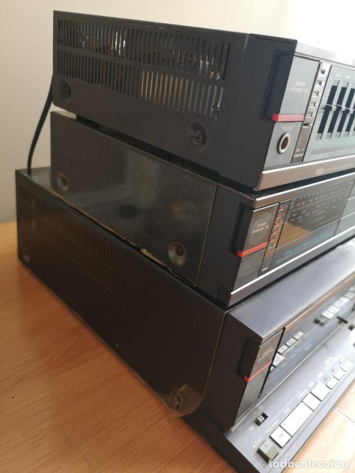 Radios antiguas: conjunto audio amplificador aiwa modular Amplificador mx-80 Tunner tx-60 Pletina fx-w60 - Foto 9 - 218748626