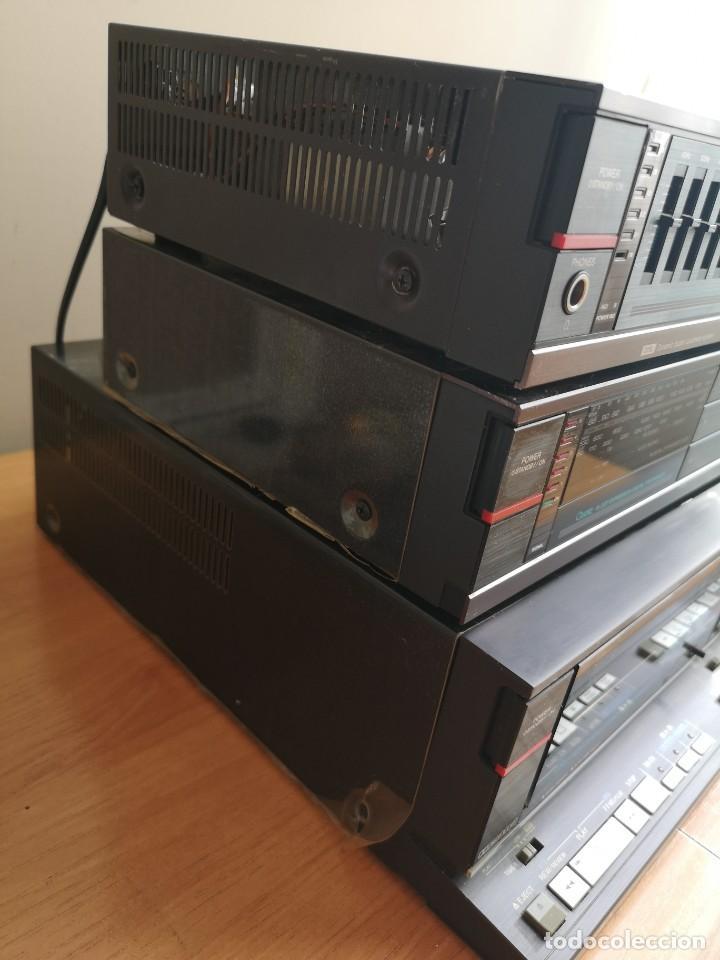 Radios antiguas: conjunto audio amplificador aiwa modular Amplificador mx-80 Tunner tx-60 Pletina fx-w60 - Foto 10 - 218748626