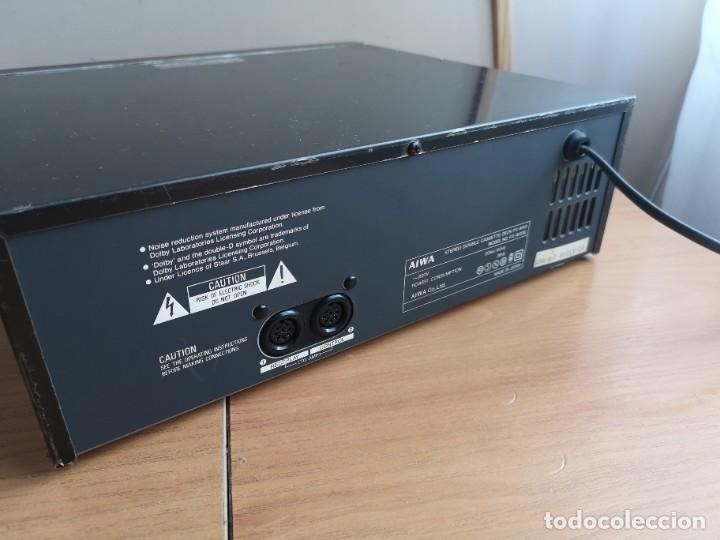 Radios antiguas: conjunto audio amplificador aiwa modular Amplificador mx-80 Tunner tx-60 Pletina fx-w60 - Foto 15 - 218748626