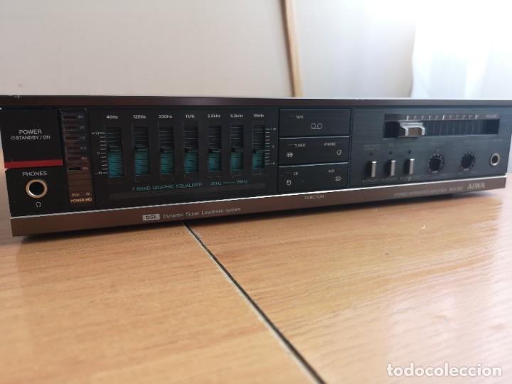 Radios antiguas: conjunto audio amplificador aiwa modular Amplificador mx-80 Tunner tx-60 Pletina fx-w60 - Foto 16 - 218748626