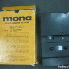 Radios antiguas: MONA STEREO CASSETTE ADAPTER. MK-703SR.. Lote 218763253