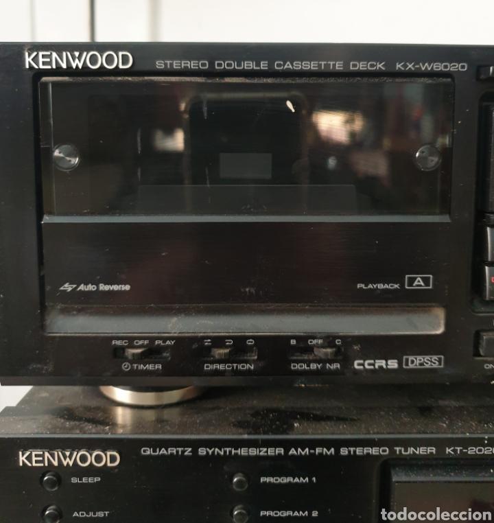 Radios antiguas: Cadena musical Kenwood - Foto 3 - 218775453