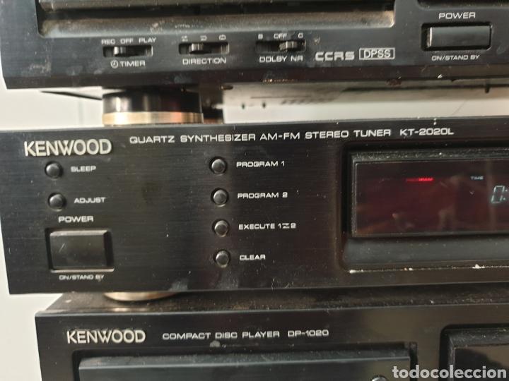 Radios antiguas: Cadena musical Kenwood - Foto 4 - 218775453
