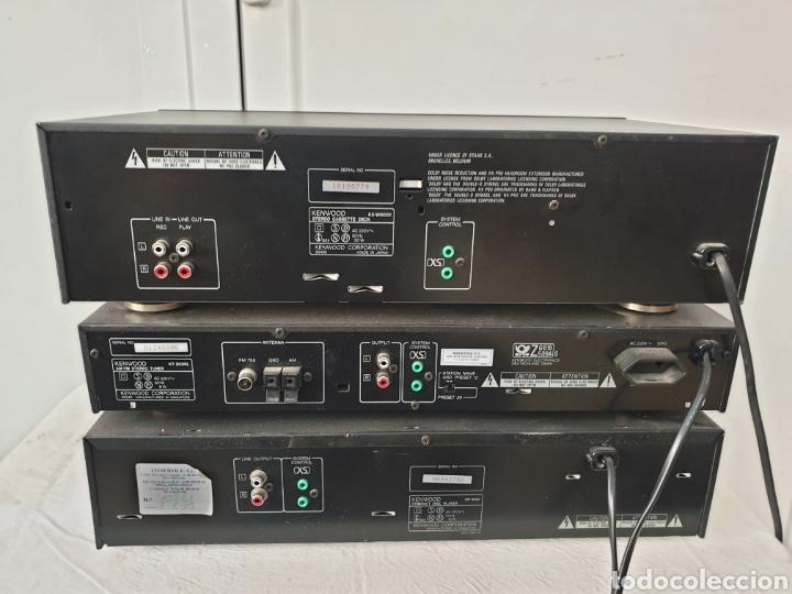 Radios antiguas: Cadena musical Kenwood - Foto 9 - 218775453