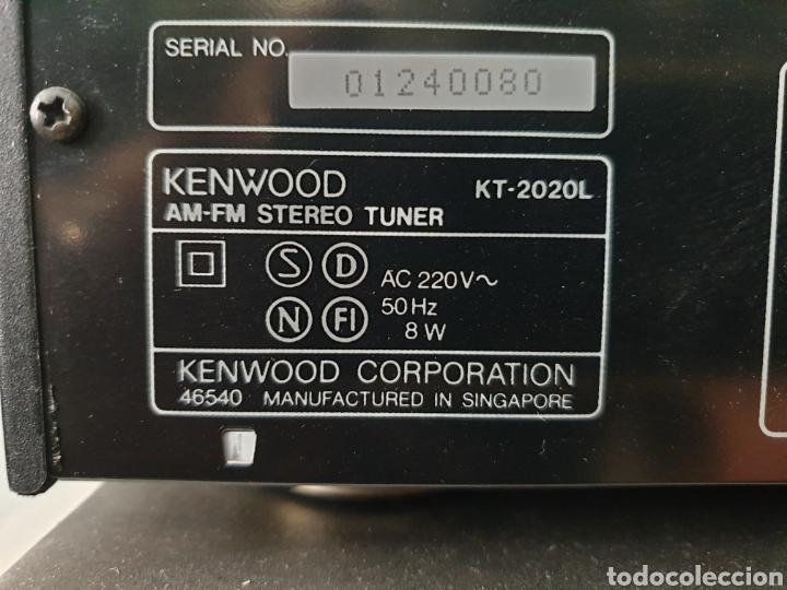 Radios antiguas: Cadena musical Kenwood - Foto 10 - 218775453