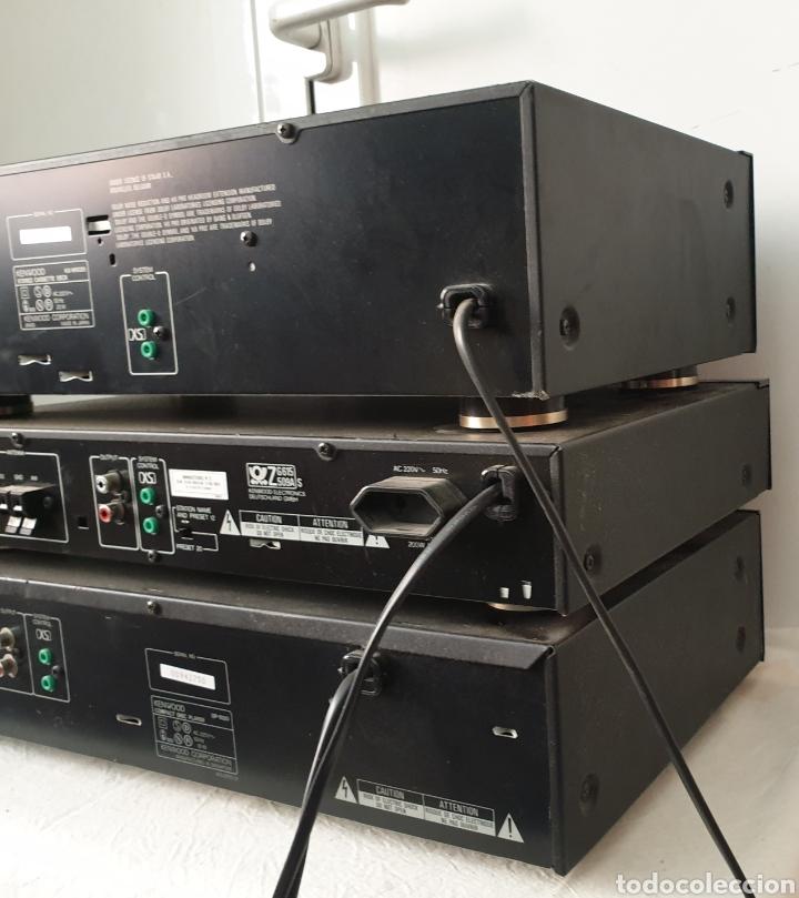 Radios antiguas: Cadena musical Kenwood - Foto 12 - 218775453