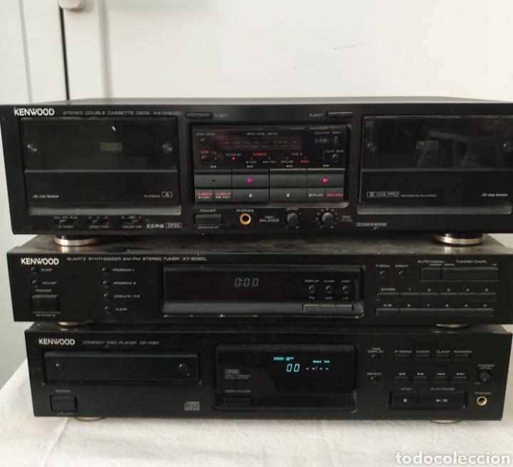 CADENA MUSICAL KENWOOD (Radios, Gramófonos, Grabadoras y Otros - Transistores, Pick-ups y Otros)
