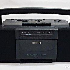 Radios antiguas: RADIO CASSETTE PORTATIL MARCA PHILIPS AQ 5040. Lote 218819505