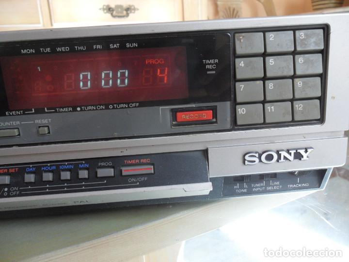 SONY VIDEO CASSETTE RECORDER BETAMAX SL-C30E PAL (Radios, Gramófonos, Grabadoras y Otros - Transistores, Pick-ups y Otros)