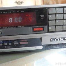 Radios antiguas: SONY VIDEO CASSETTE RECORDER BETAMAX SL-C30E PAL. Lote 218891538