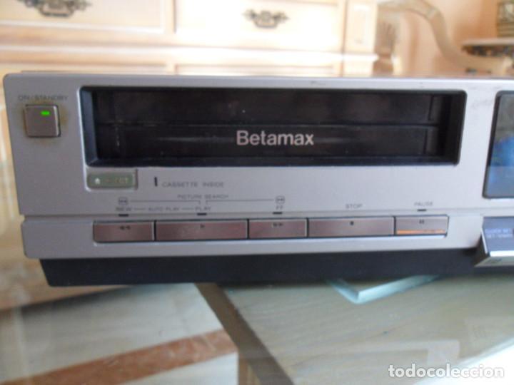 Radios antiguas: sony video cassette recorder betamax SL-C30E PAL - Foto 2 - 218891538