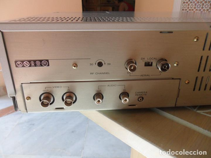 Radios antiguas: sony video cassette recorder betamax SL-C30E PAL - Foto 6 - 218891538