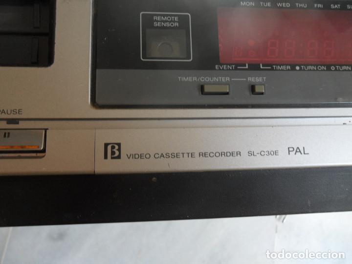 Radios antiguas: sony video cassette recorder betamax SL-C30E PAL - Foto 8 - 218891538