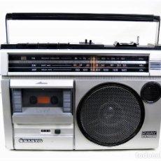 Radios antiguas: RADIO CASSETTE SANYO M-2420-2N AÑOS 70. Lote 219014663