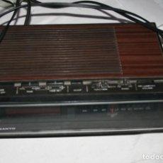 Radios antiguas: RADIO DESPERTADOR VINTAGE SANYO RM5100, VER DESCRIPCION. Lote 219027692