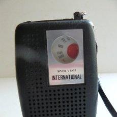 Radios Anciennes: RADIO TRANSISTOR INTERNATIONAL - MOD. SOLID STATE-. Lote 219095770