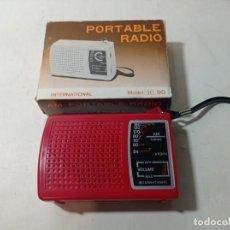 Radios antiguas: RADIO TRANSMISOR DE LOS AÑOS 70 80. Lote 219398255