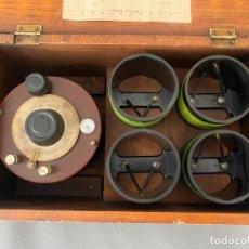 Radios antiguas: GENERAL RADIO , WAVEMETER DE 1930 . TYPE 358 , ACCESORIOS DE RADIO EN CAJA. Lote 219623130