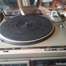 Radios antiguas: TOCADISCOS TECHNICS SL-D30 / DIRECT DRIVE AUTOMATIC TURNTABLE SYSTEM PEPETO ELECTRONICA VER VIDEO. Lote 220064210