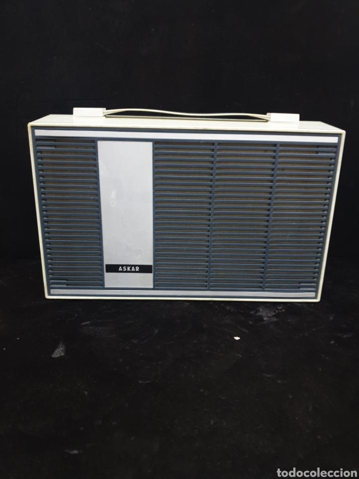 Radios antiguas: Tocadiscos Askar - Foto 6 - 220285941