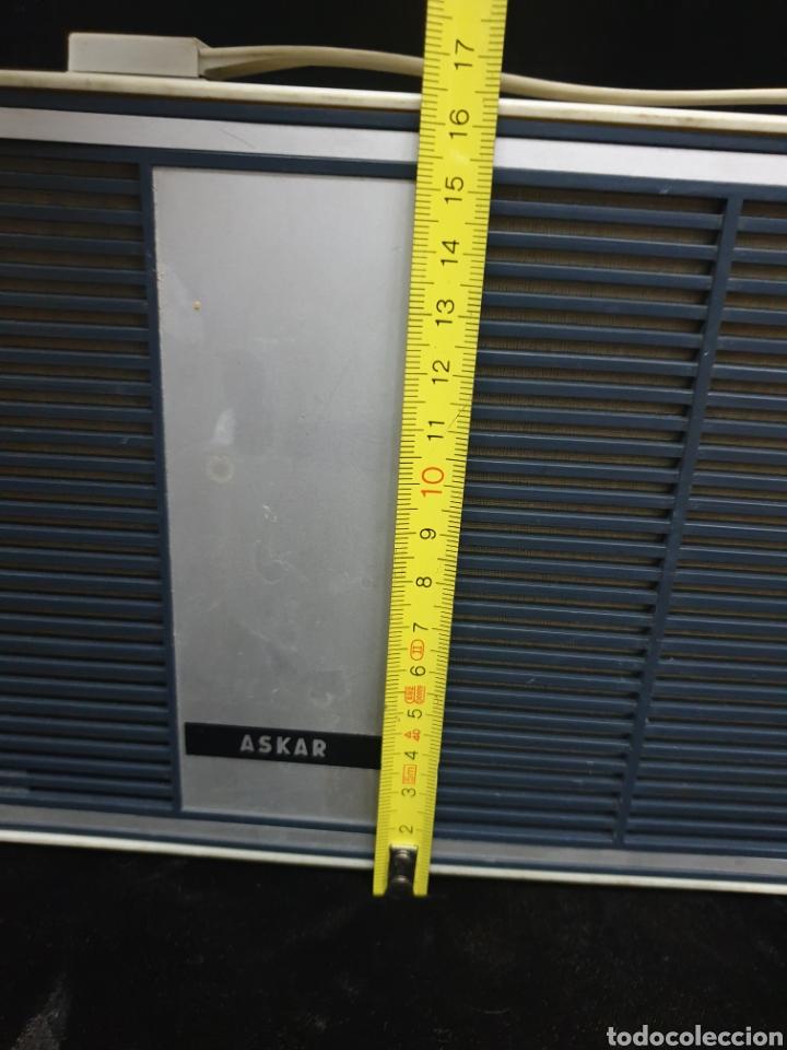 Radios antiguas: Tocadiscos Askar - Foto 12 - 220285941