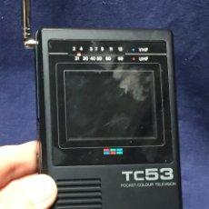 Rádios antigos: CITIZEN RADIO TELEVISION BOLSILLO LCD COLOUR TV TC 53 PAL B PAL G EN CAJA 20,5X12X8,5CMS. Lote 220603680