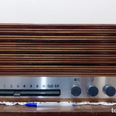 Radios antiguas: HILO MUSICAL EXCELSIOR HASLER. Lote 220623548