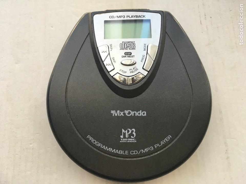 DISCMAN CD MP3 PLAYBACK MX ONDA DM126MP3 KREATEN REPRODUCTOR CDR (Radios, Gramófonos, Grabadoras y Otros - Transistores, Pick-ups y Otros)
